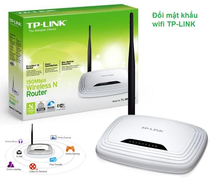 cách đổi tên wifi tp link