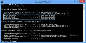 cách tìm địa chỉ ip modem router bước 2