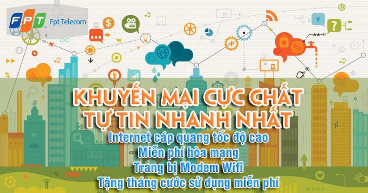 khuyến mãi lắp mạng fpt phường Nghĩa Đô